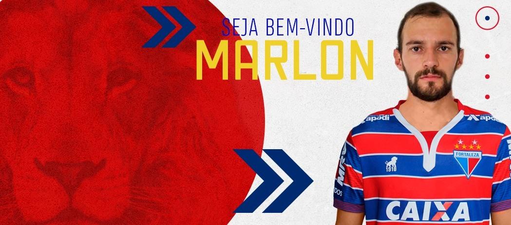 Fortaleza oficializa contratação do meia Marlon, ex-Sampaio Corrêa