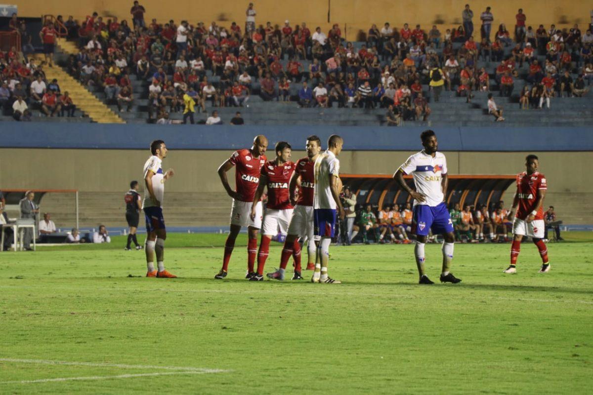Fortaleza e Vila Nova empatam por 0 a 0 em Goiânia