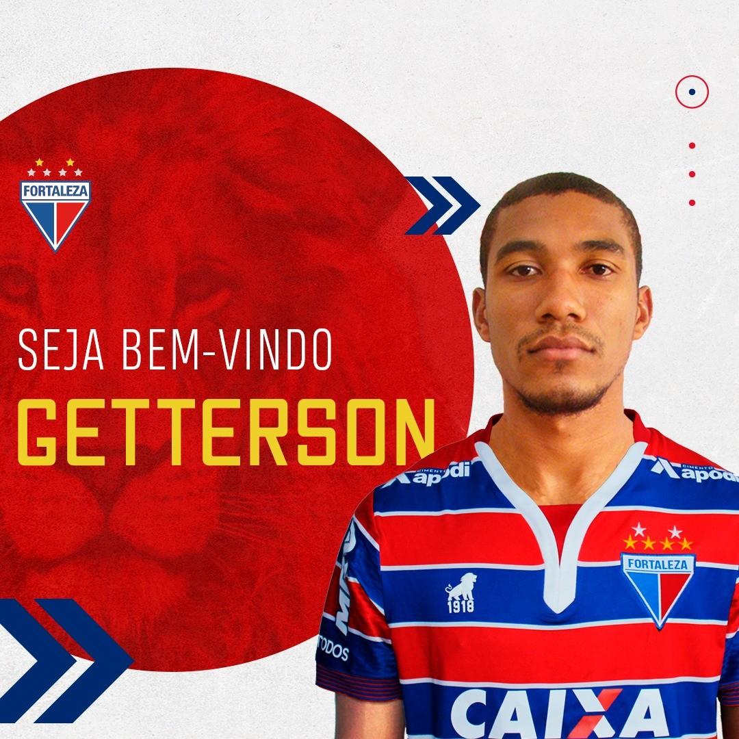Atacante Getterson é jogador do Fortaleza