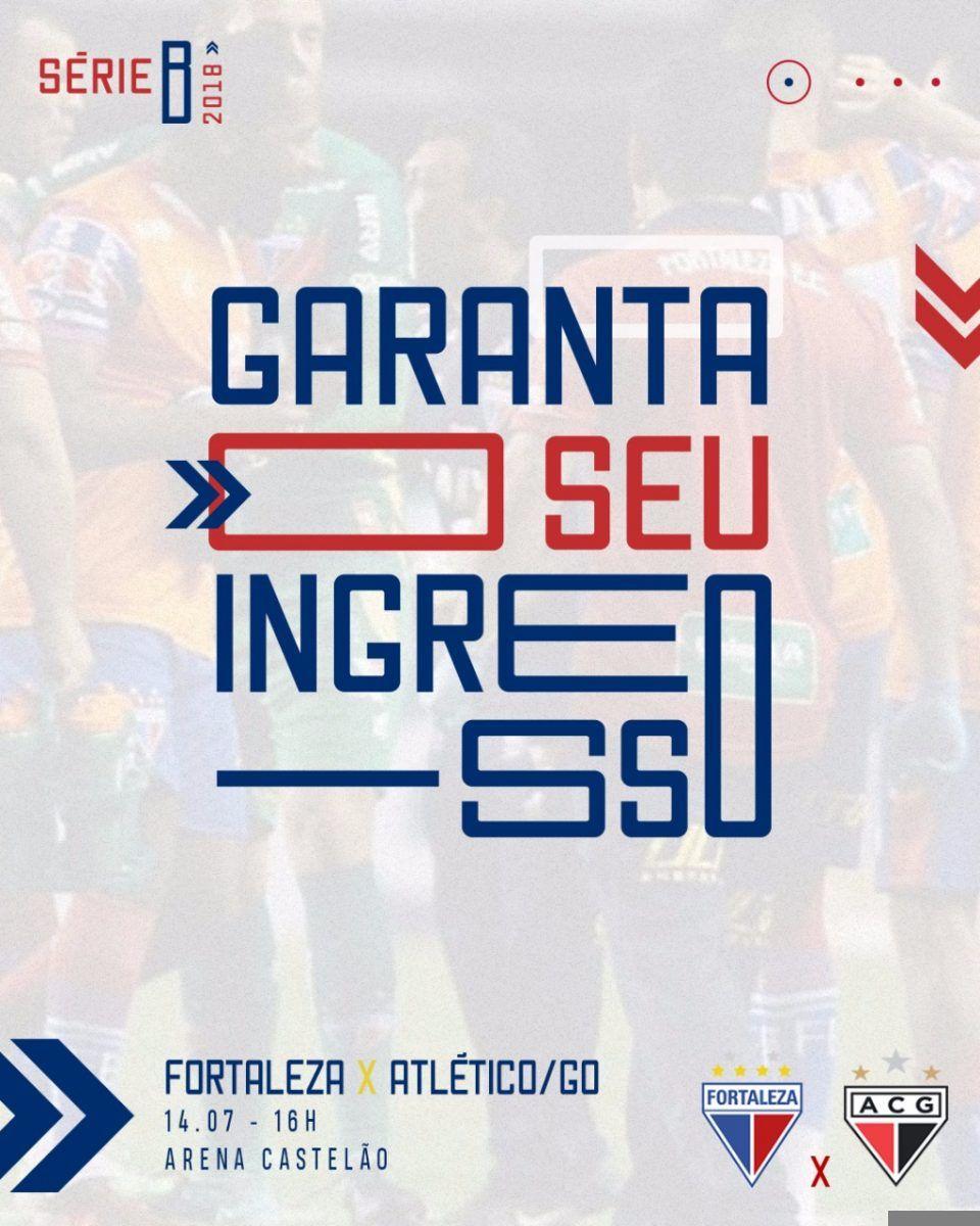 Fortaleza inicia venda de ingressos para confronto contra o Atlético/GO