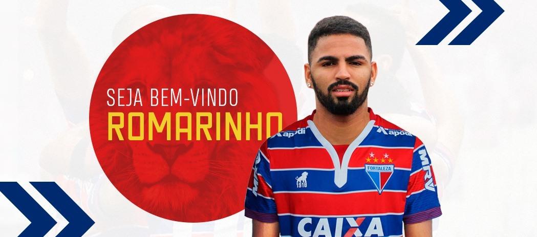 Fortaleza contrata atacante Romarinho, ex-Globo/RN
