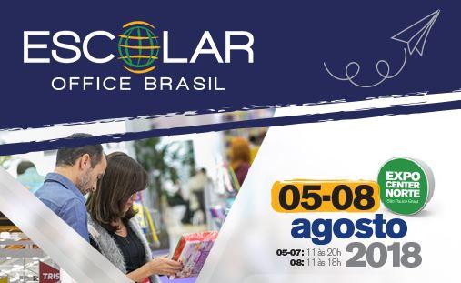 Fortaleza marca presença em feira Escolar Office Brasil 2018