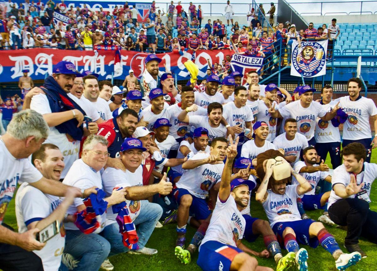 Fortaleza vence Avaí e é campeão brasileiro da Série B