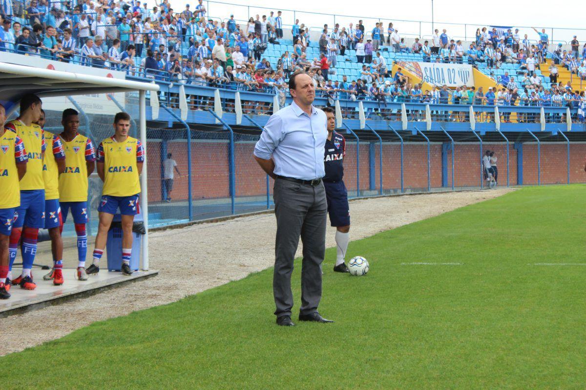 Fortaleza oficializa renovação de contrato com Treinador Rogério Ceni
