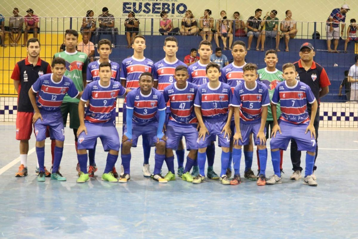 Fortaleza é bi campeão cearense de futsal, categoria sub-13.