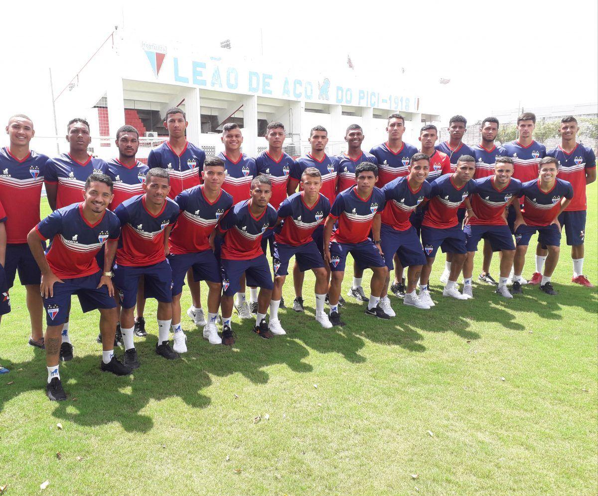 Fortaleza relaciona 24 atletas para jogo semifinal da Copa do Nordeste, sub-20.