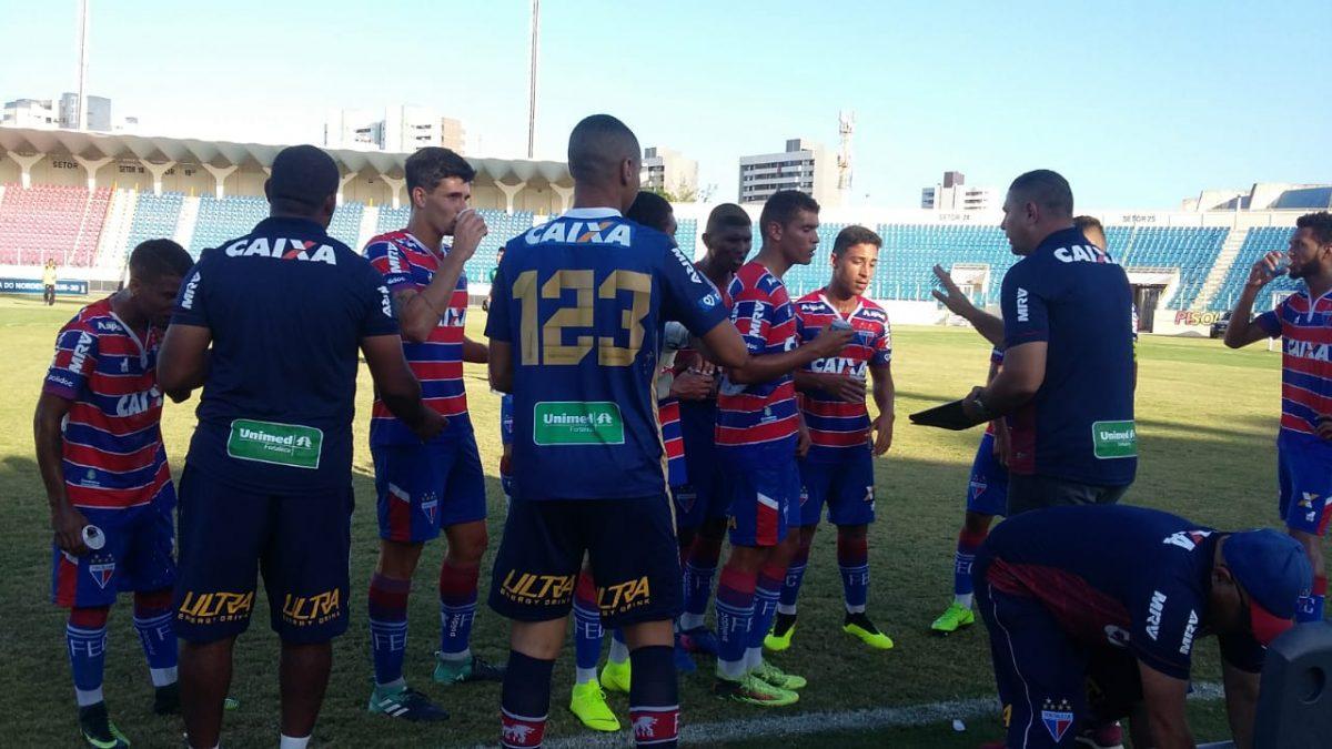 Fortaleza passa pelo Ríver (PI) e é finalista da Copa do Nordeste sub-20.