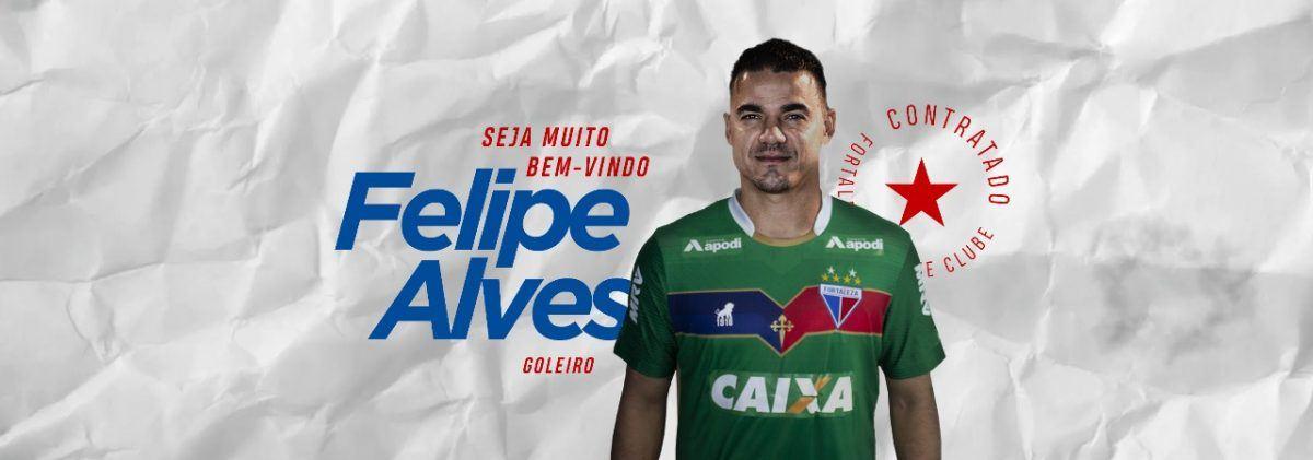 Fortaleza acerta contratação do goleiro Felipe Alves