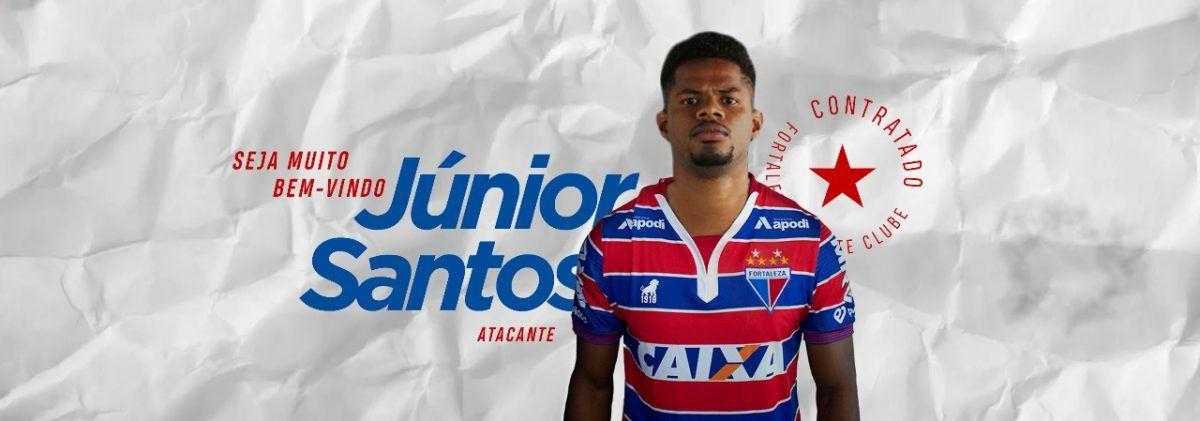 Fortaleza oficializa contratação do atacante Júnior Santos
