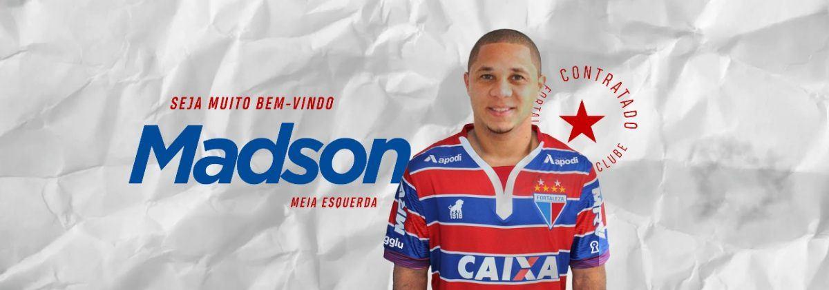 Fortaleza anuncia a contratação do meia Madson