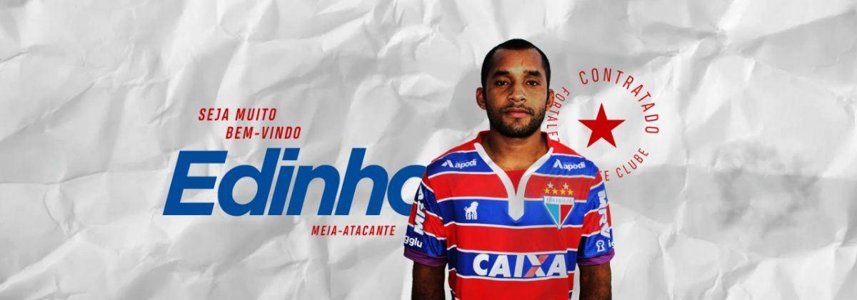 Revelado no Fortaleza, Edinho está de volta ao Tricolor do Pici