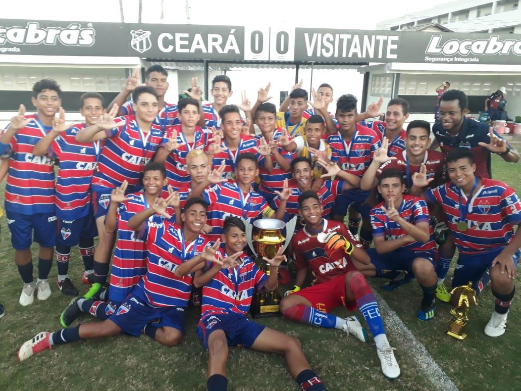 Fortaleza, categoria sub-14, conquista Copa Metropolita 2018