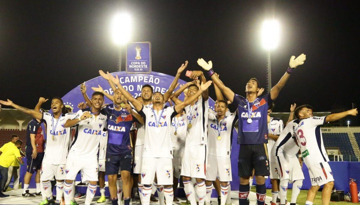 Fortaleza, categoria sub-20, é campeão da Copa do Nordeste 2018