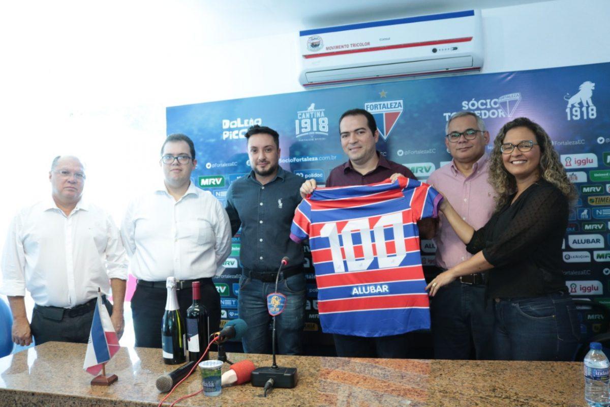 Fortaleza assina com Alubar, novo patrocinador que terá marca na camisa