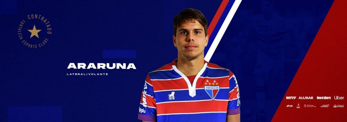 Fortaleza oficializa contratação do volante Araruna