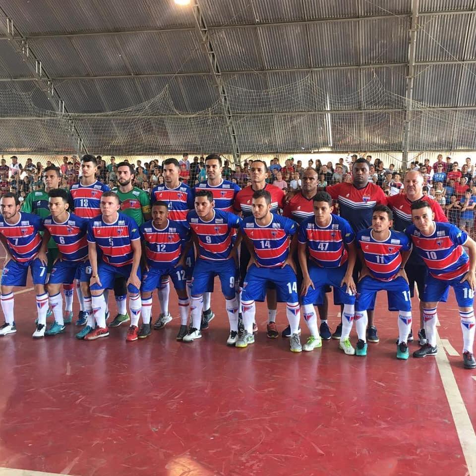 Após dez anos longe das quadras, a equipe de futsal adulto do Fortaleza retomou suas atividades
