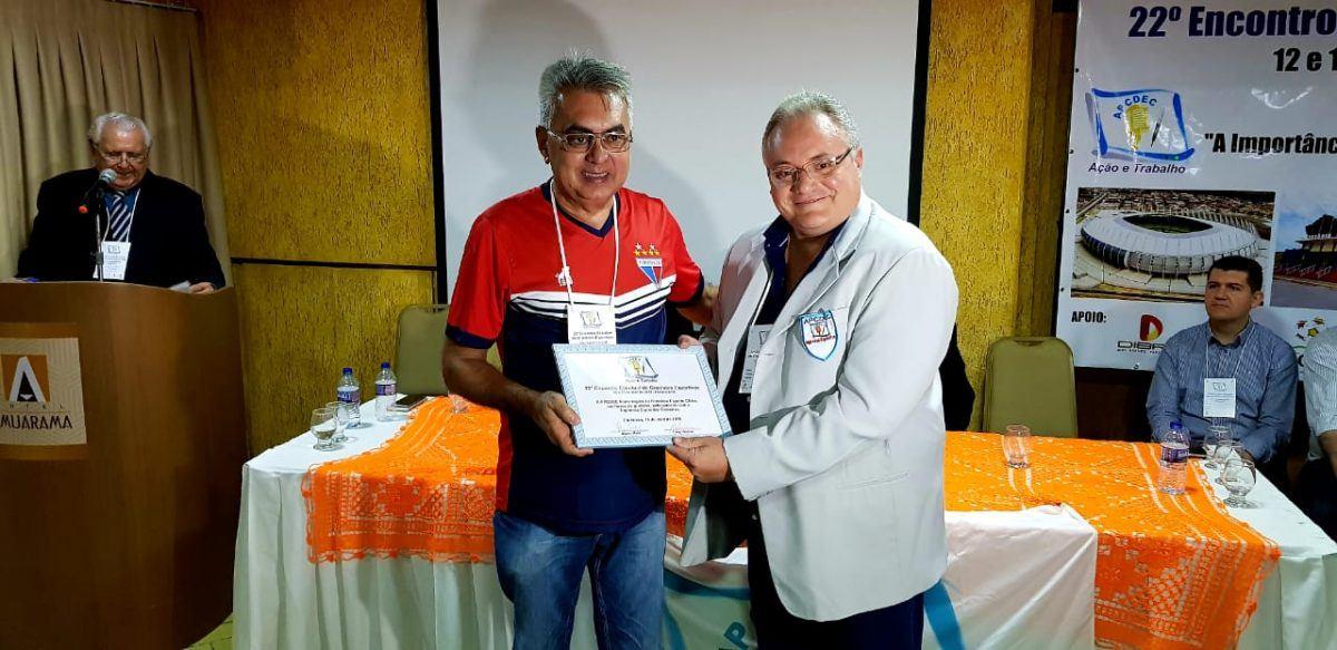 Fortaleza recebe homenagem no 22° Encontro Estadual dos Cronistas Esportivos.
