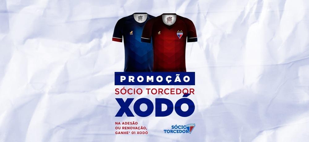 Promoção de abril: sócio-torcedor ganha camisa Xodó