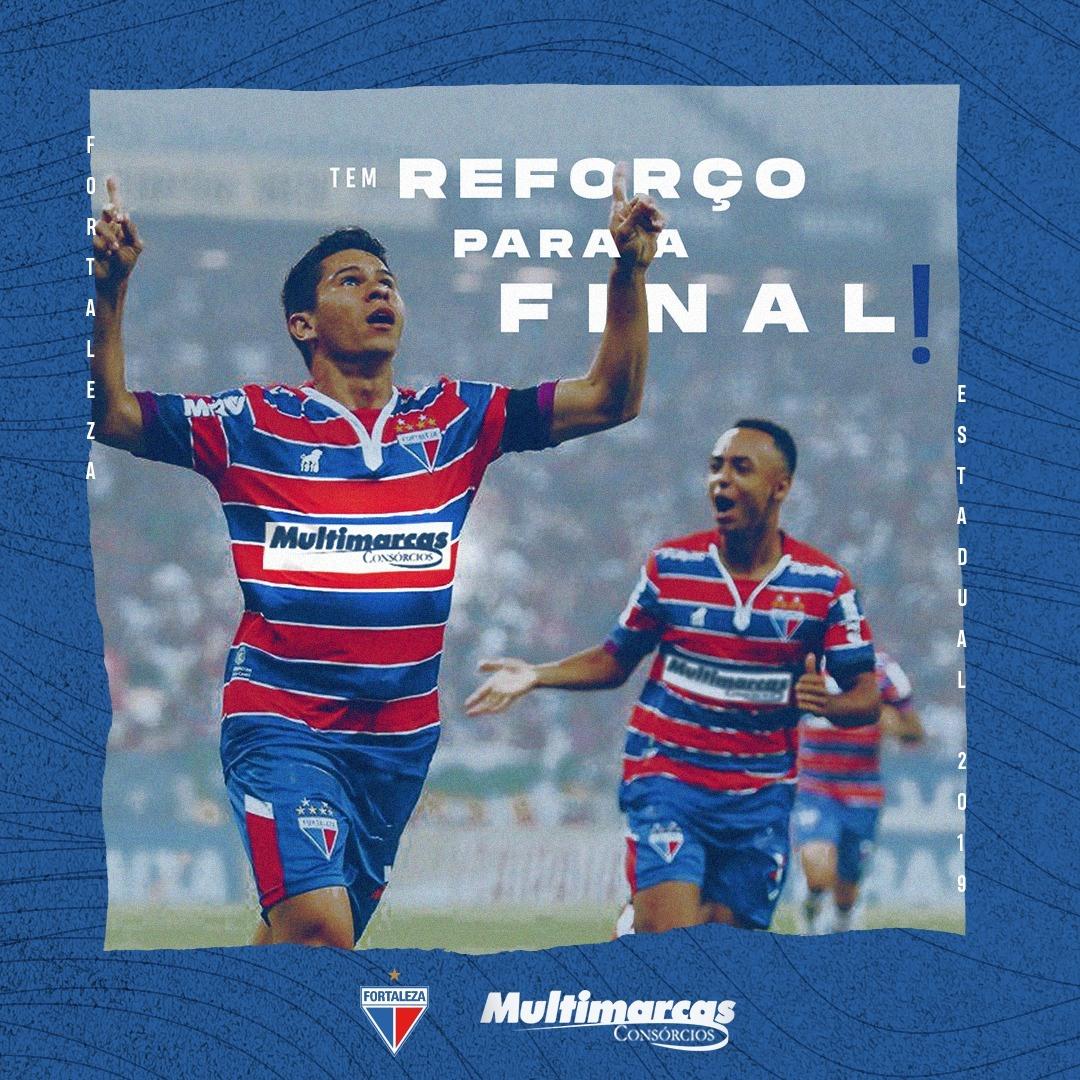 Fortaleza fecha patrocínio master para final do Campeonato Cearense 2019