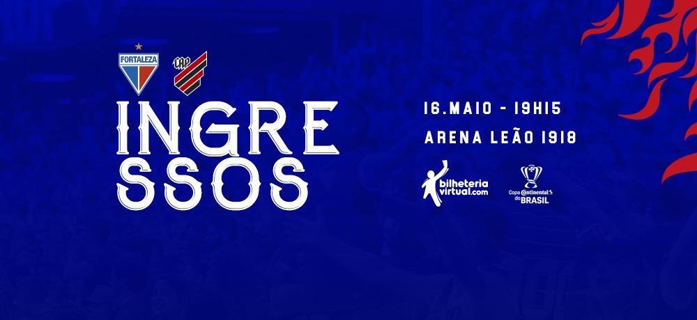Ingressos disponíveis para as oitavas da Copa do Brasil