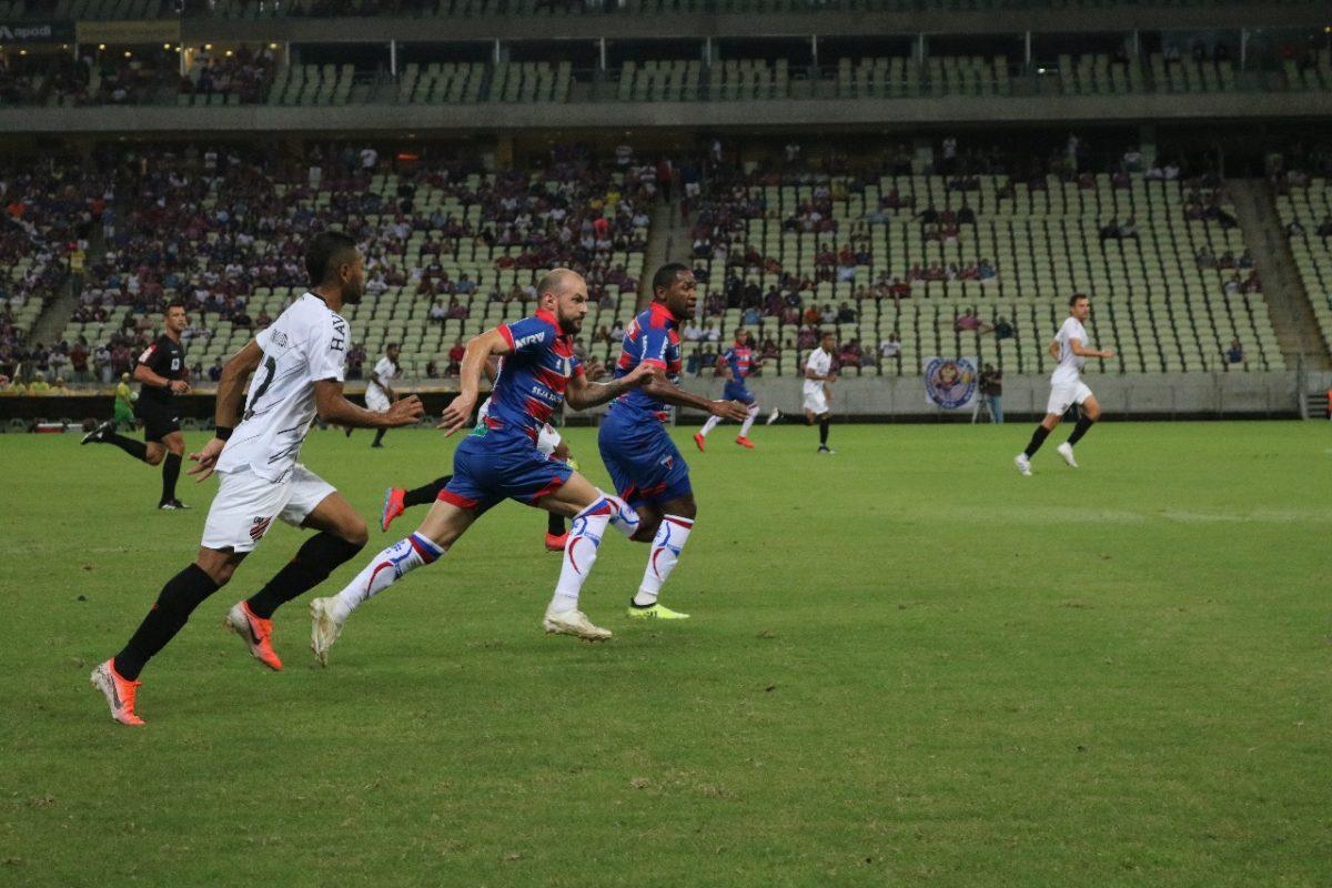 Fortaleza e Athletico-PR ficam no 0 a 0 pela Copa do Brasil