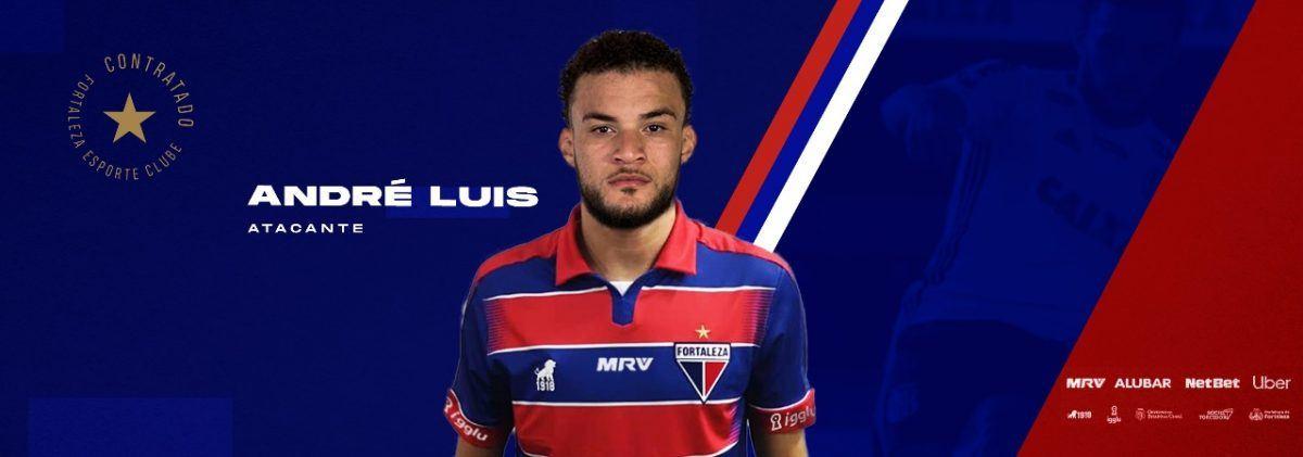 Fortaleza oficializa a contratação do atacante Andre Luis