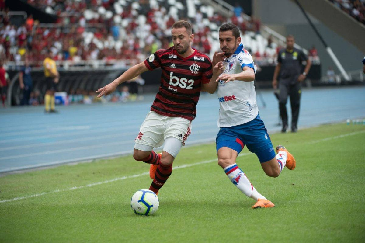Fortaleza é derrotado pelo Flamengo em jogo válido pelo brasileiro da série A.