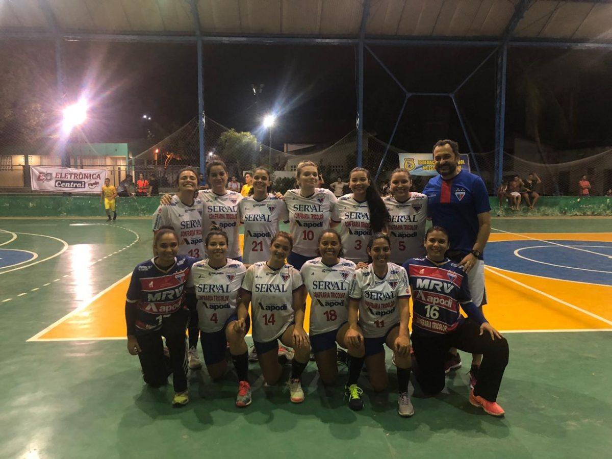 Handebol feminino faz primeira partida pelo Campeonato Cearense