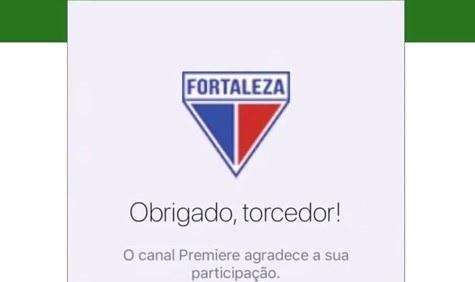Marque o Fortaleza como o seu time de coração no Premiere