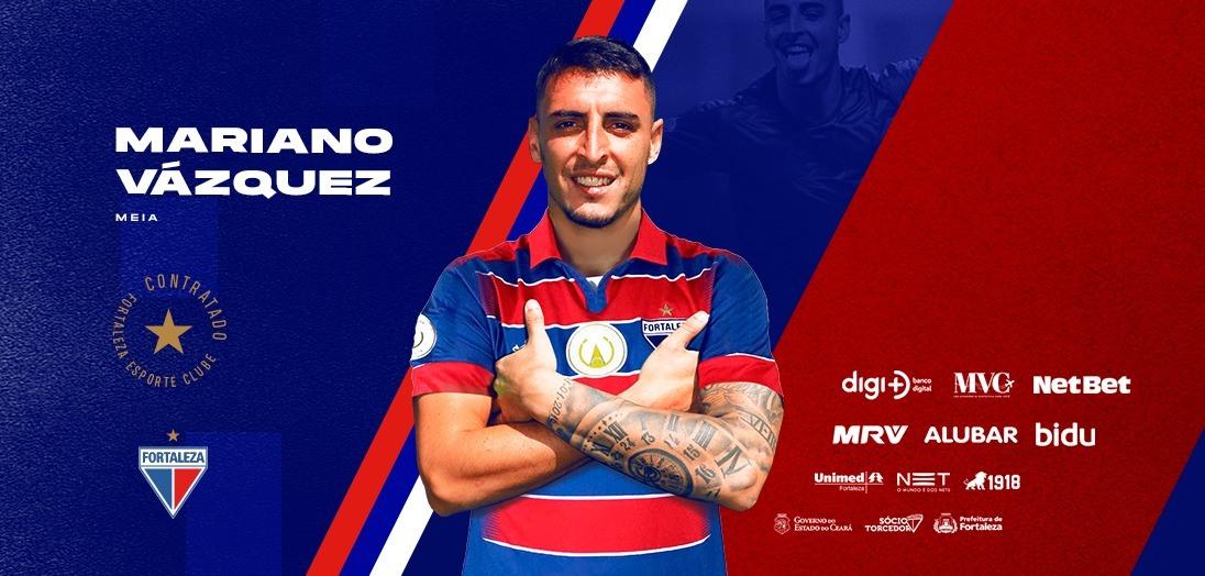 Fortaleza acerta contratação do meio-campista Mariano Vázquez