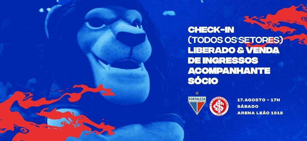 Faça seu check-in para Fortaleza x Internacional