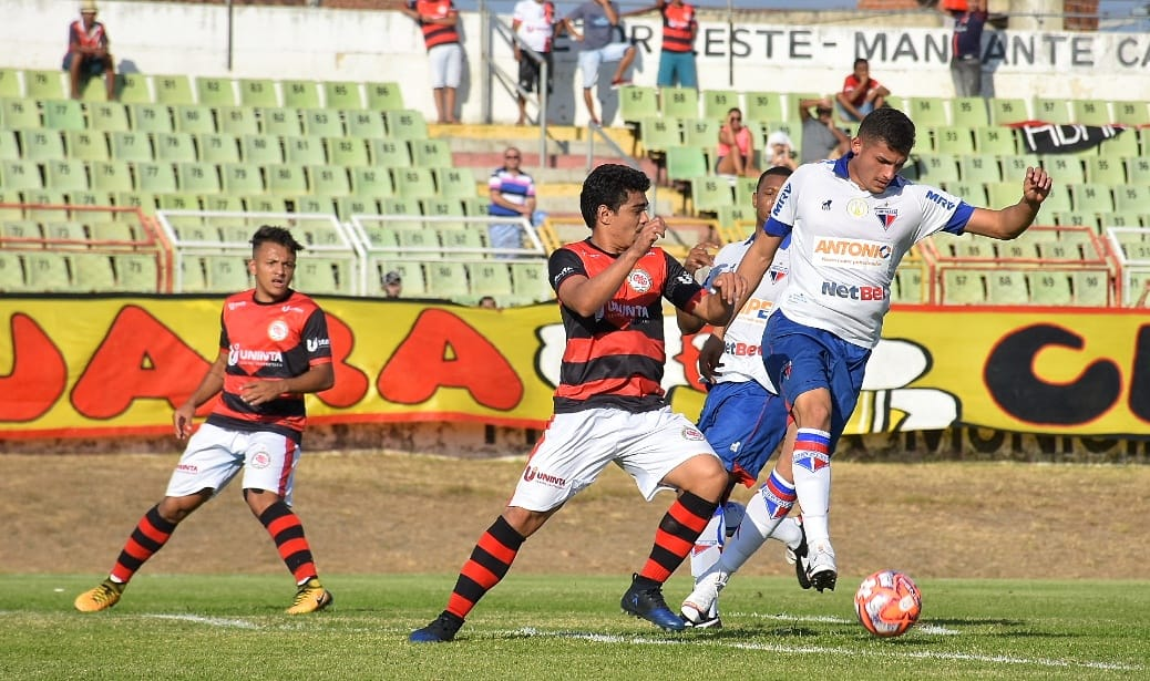 Fortaleza perde para Guarany (S) na estreia da Taça Fares Lopes