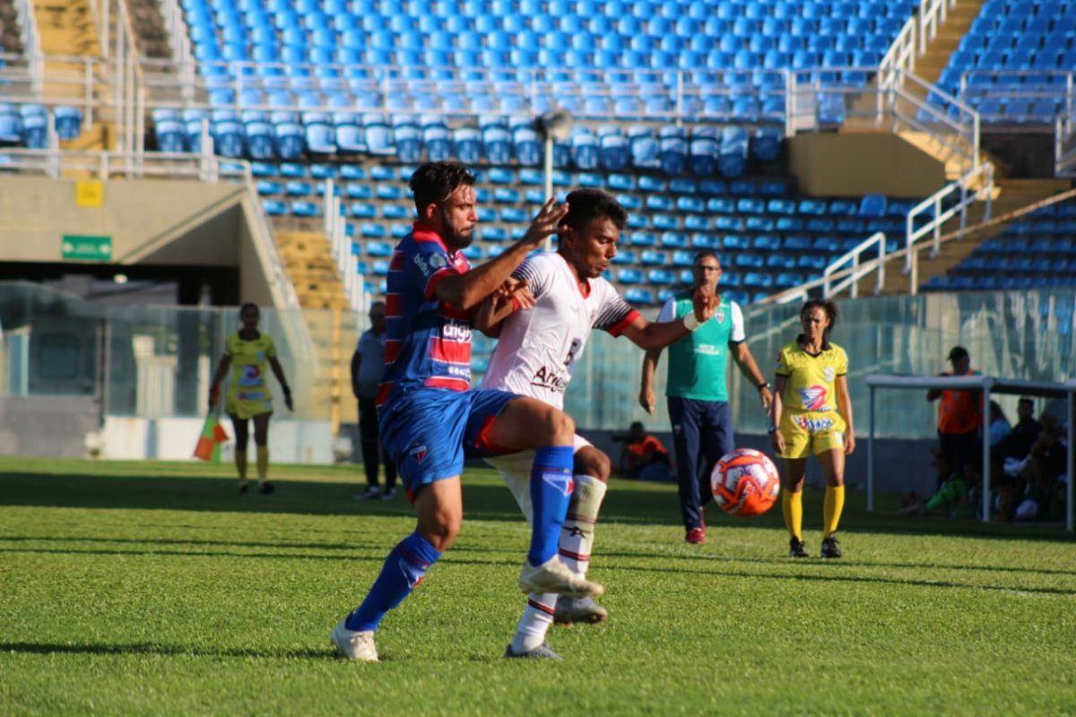 Com gols de Coutinho, Fortaleza vence Atlético Cearense pela Taça Fares Lopes