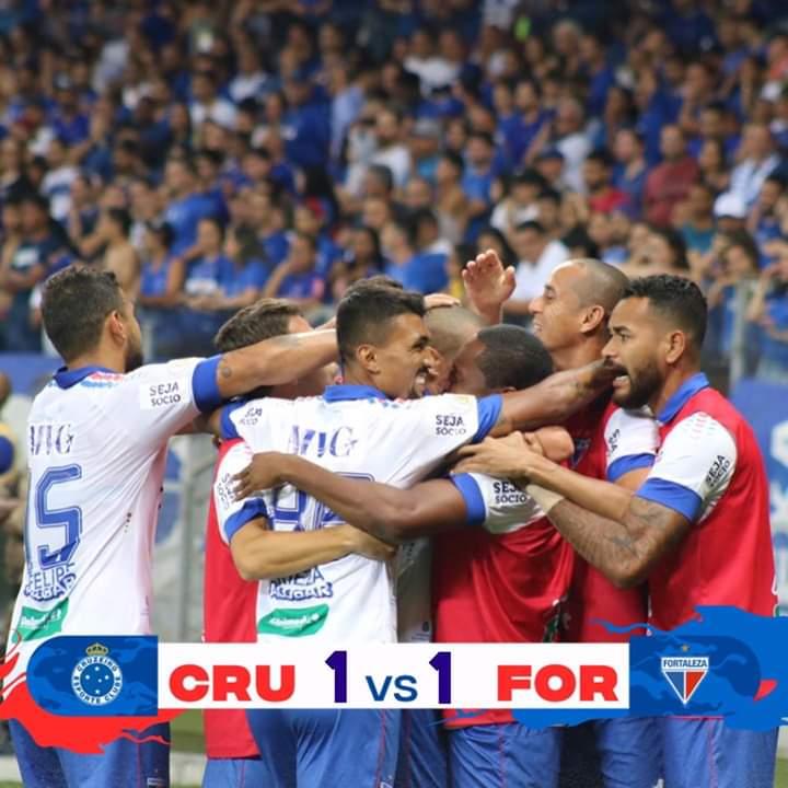 Fortaleza consegue importante empate com o Cruzeiro no Mineirão