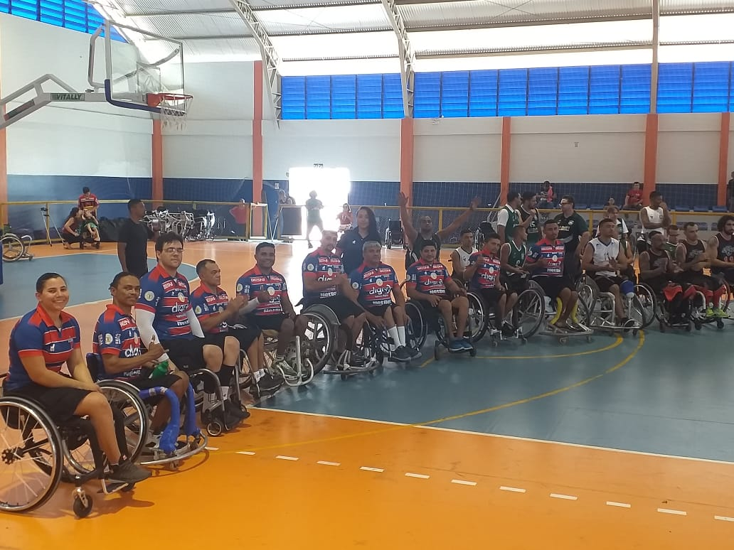 ADESUL/Fortaleza consegue acesso e tem pivô como um dos destaques no Brasileiro de Basquete em Cadeira de Rodas