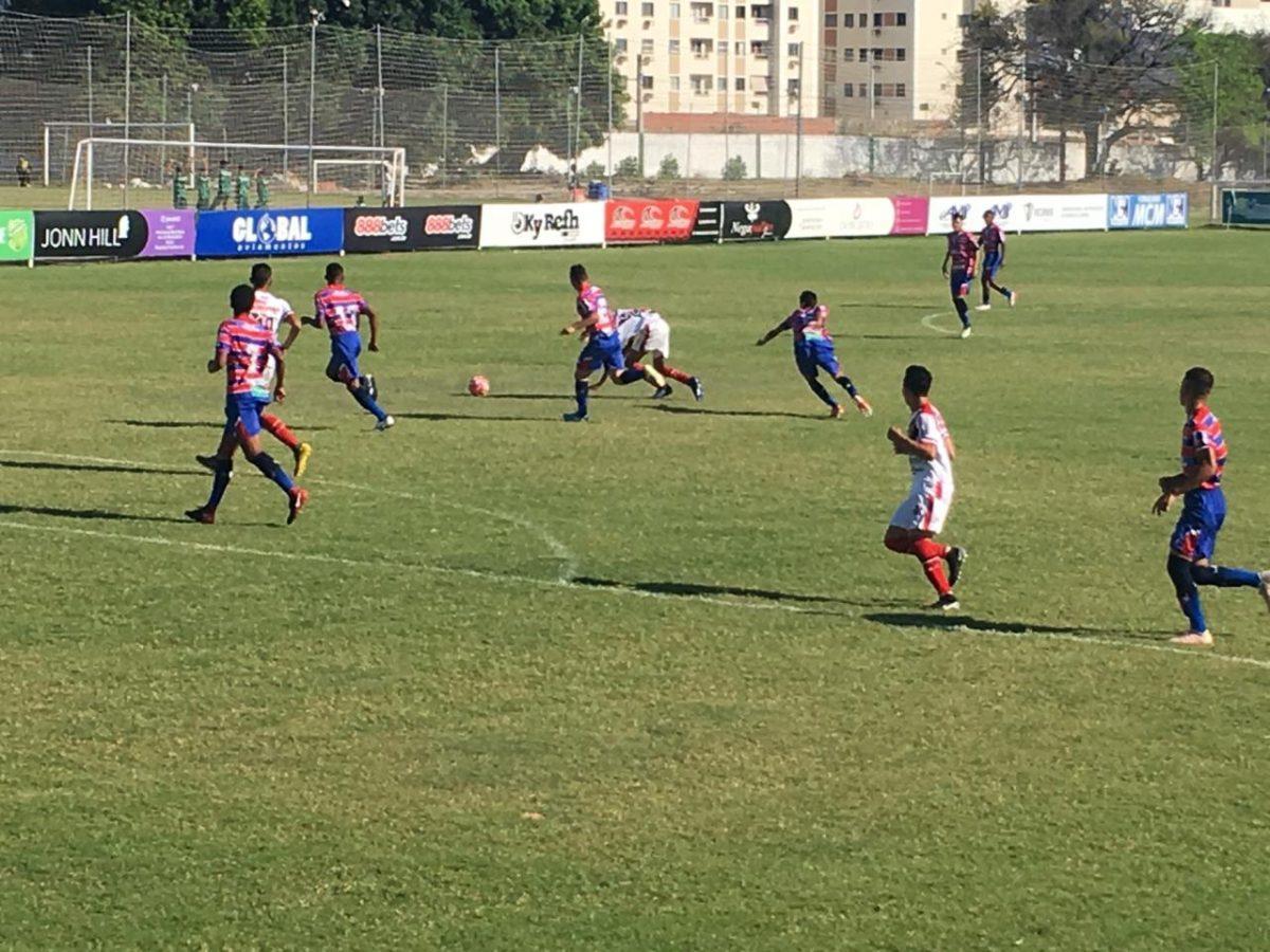 Fortaleza vence Ferroviário no clássico das cores pela Copa Uninta Sub-19