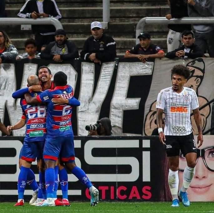 Fortaleza é derrotado pelo Corinthians em São Paulo
