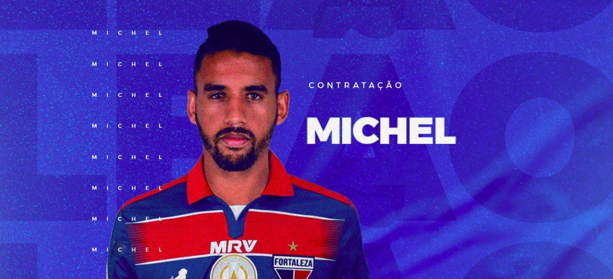 Fortaleza acerta a contratação do volante Michel.