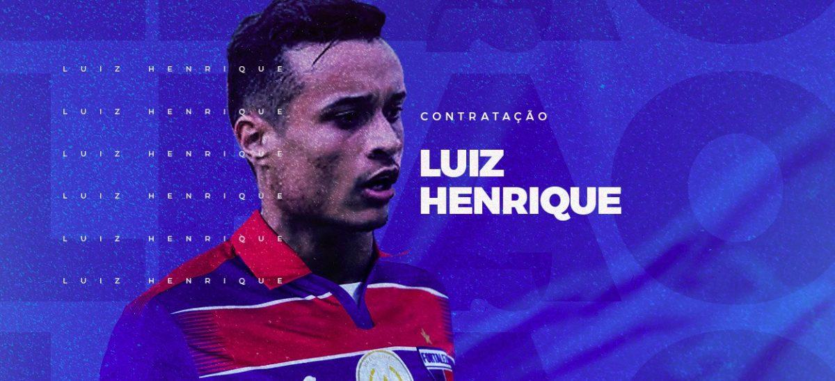 Fortaleza oficializa a contratação do volante, ex- Flamengo (RJ), Luiz Henrique