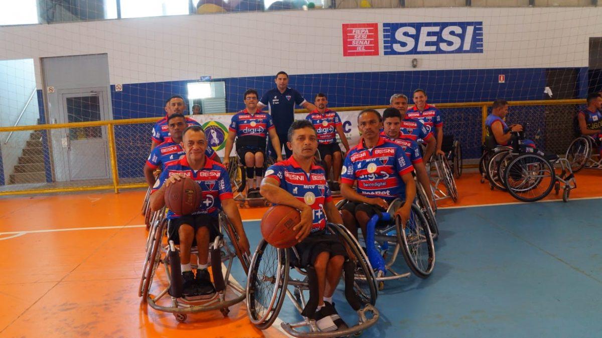 Basquete em cadeira de rodas do Fortaleza é promissor em 2020