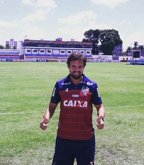 Carlos Larocca, técnico do sub-17, é apaixonado pelo Fortaleza desde criança, tem o desafio de levantar taças e colher bons frutos na categoria