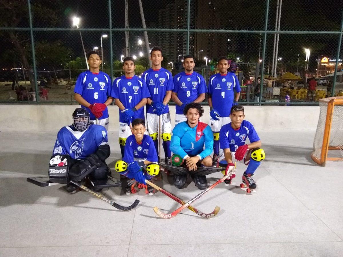 Hóquei em patins tricolor é formado 100% por atletas das categorias de base, tem hegemonia no Estado e busca em conquistar o Brasileiro