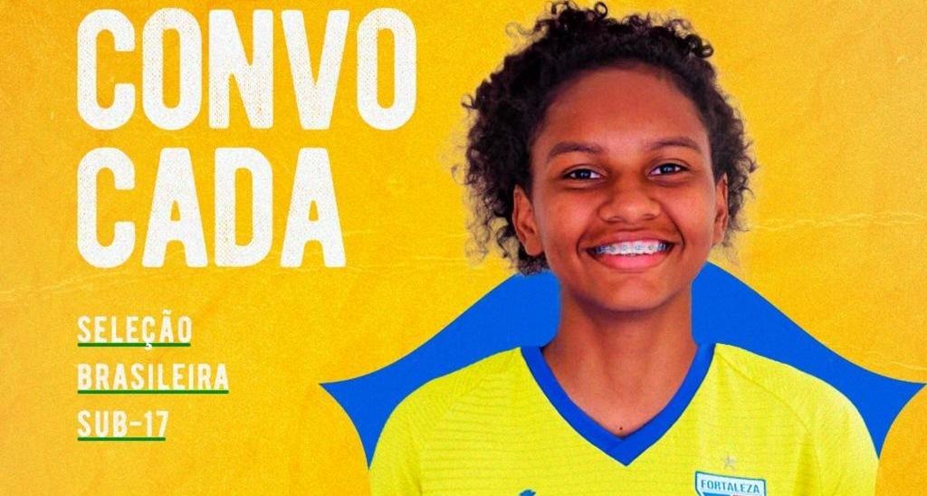 Feminino: goleira Awanny Míria é convocada para a Seleção Brasileira Sub-17