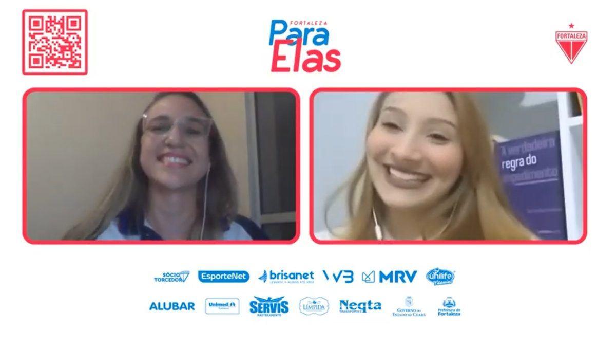 """Fortaleza Para Elas: em segunda live, Karine Nascimento fala sobre """"A regra do impedimento da mulher no esporte"""""""