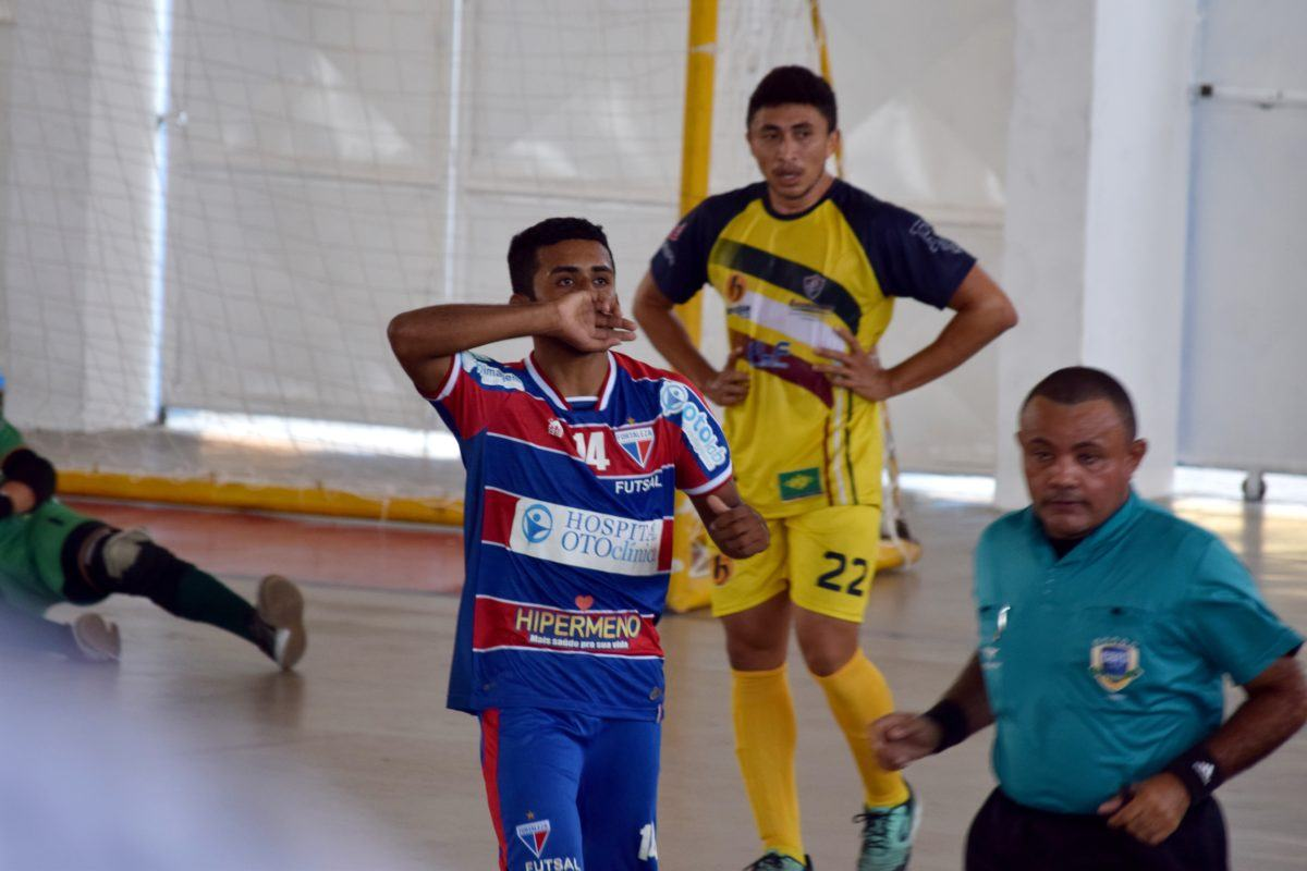 Futsal Adulto: Fortaleza empata contra o BNB/Guerreirinhos pela 2ª rodada do Cearense