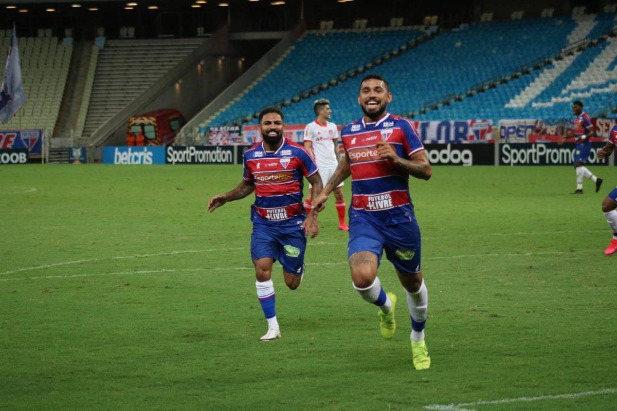 Fortaleza vence o Internacional na Arena Castelão e chega aos 15 pontos