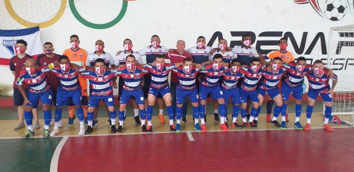 Futsal Adulto: Fortaleza empata com o Sumov e continua na zona de classificação do Cearense