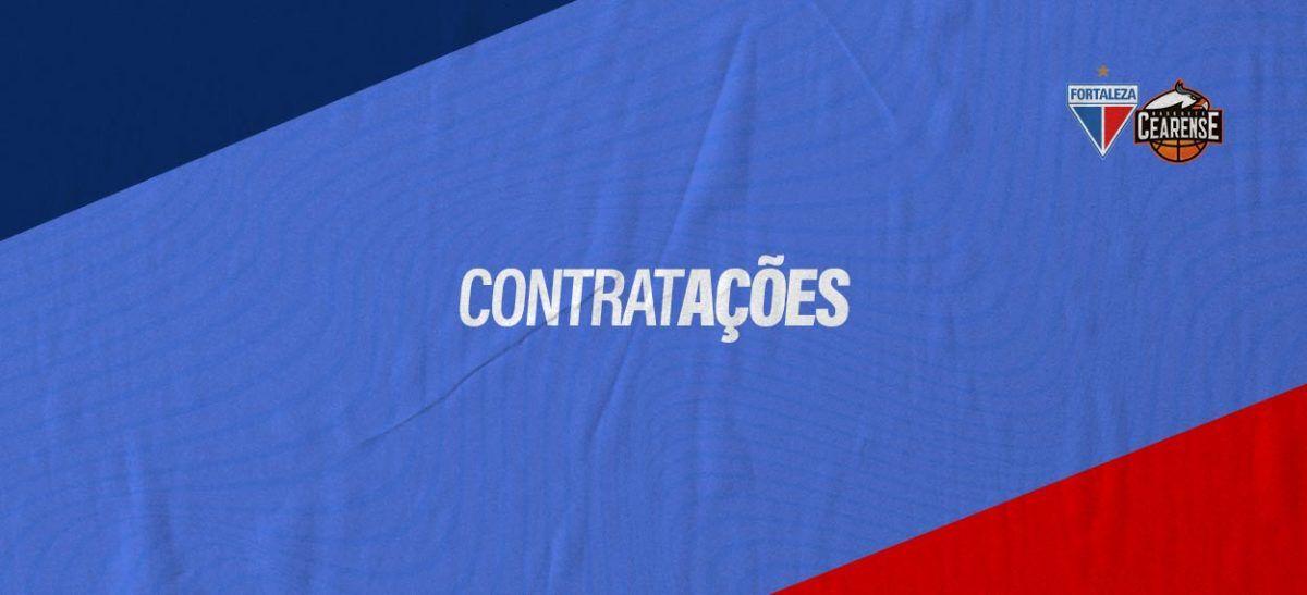 """O Fortaleza Basquete Cearense oficializa a contratação do ala-armador Desmond Holloway e do pivô Lucas Nogueira """"Bebê"""" para a temporada 2020/2021"""
