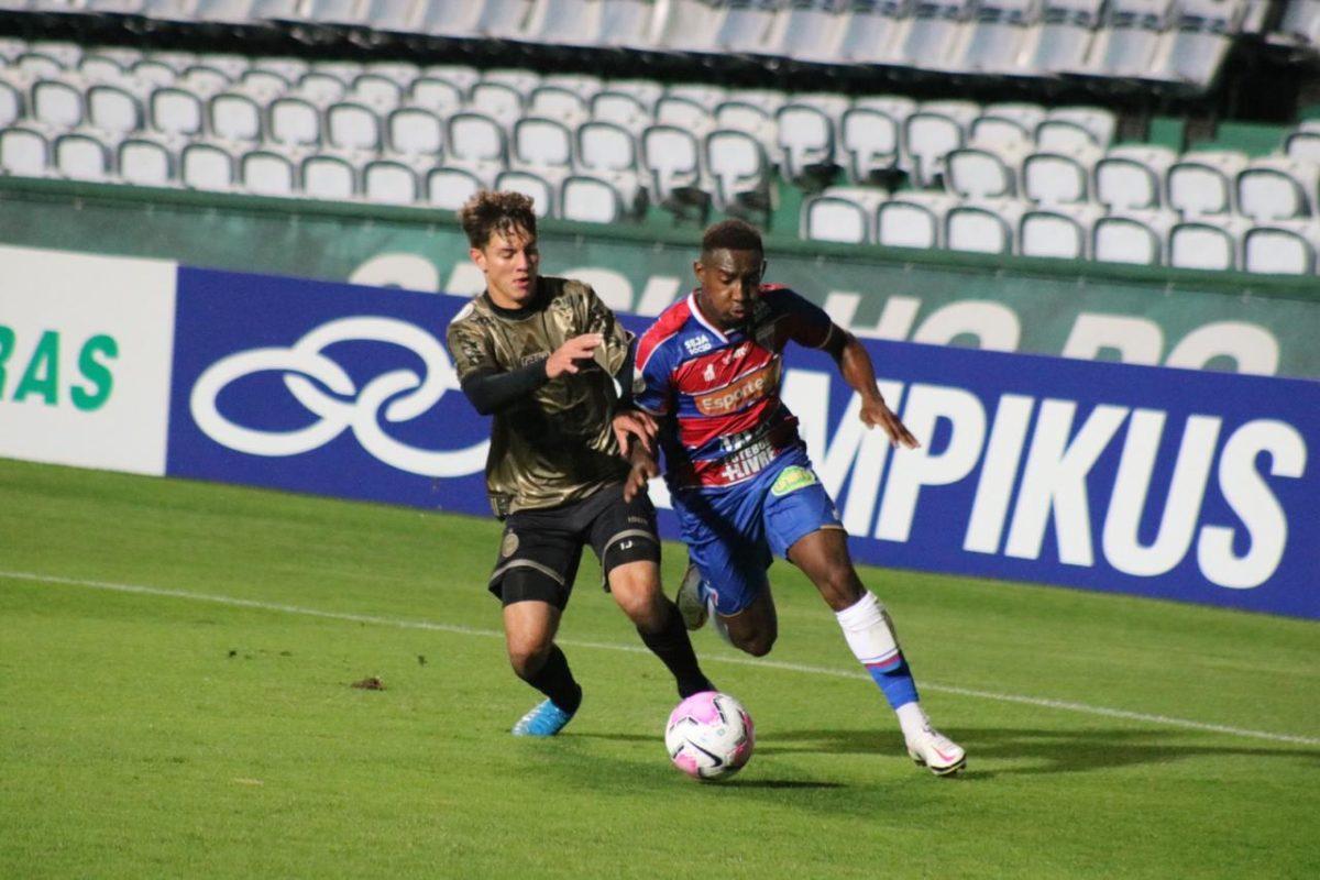 Fortaleza e Coritiba empatam em 0 a 0 e tricolor chega a 7 jogos invicto