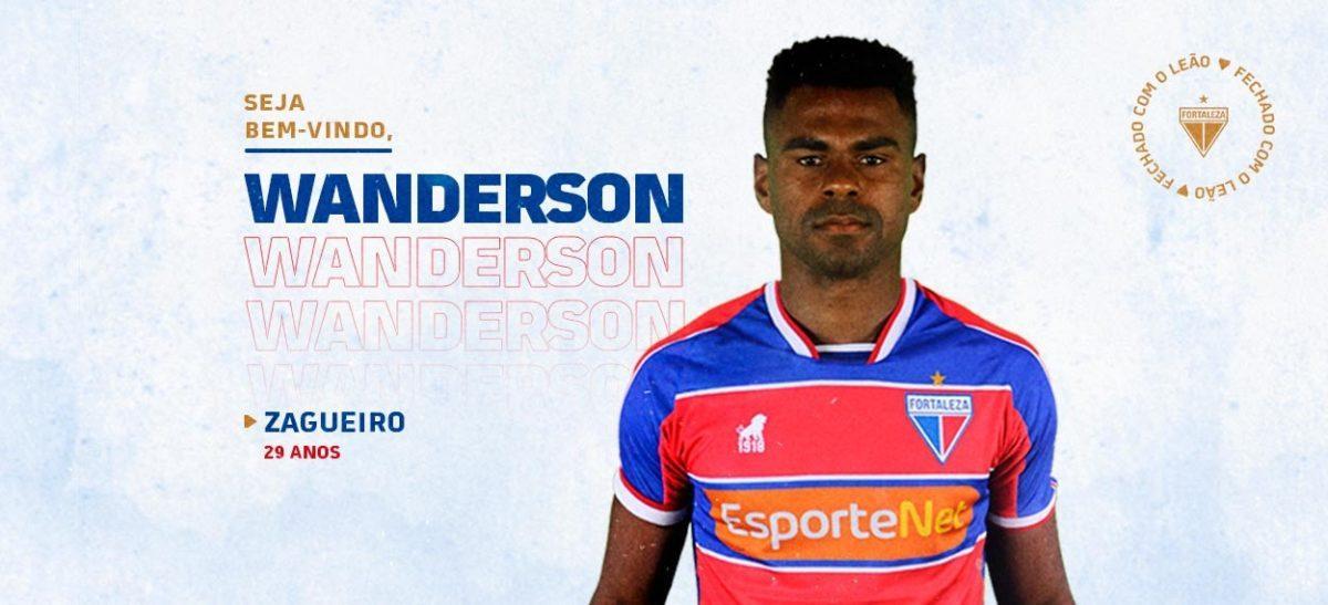 Fortaleza Esporte Clube oficializa contratação do zagueiro Wanderson